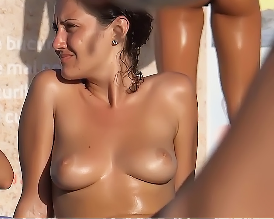 Candid Sexy Beach Body Spy Nice Tits