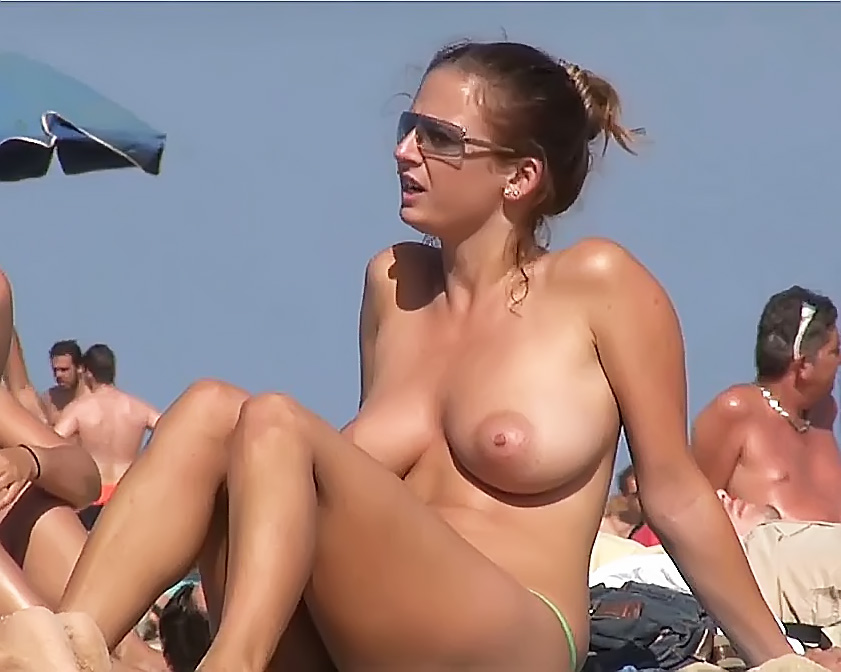 Older French Topless Incredible Beach Orthez In Nature'S Garb Lac