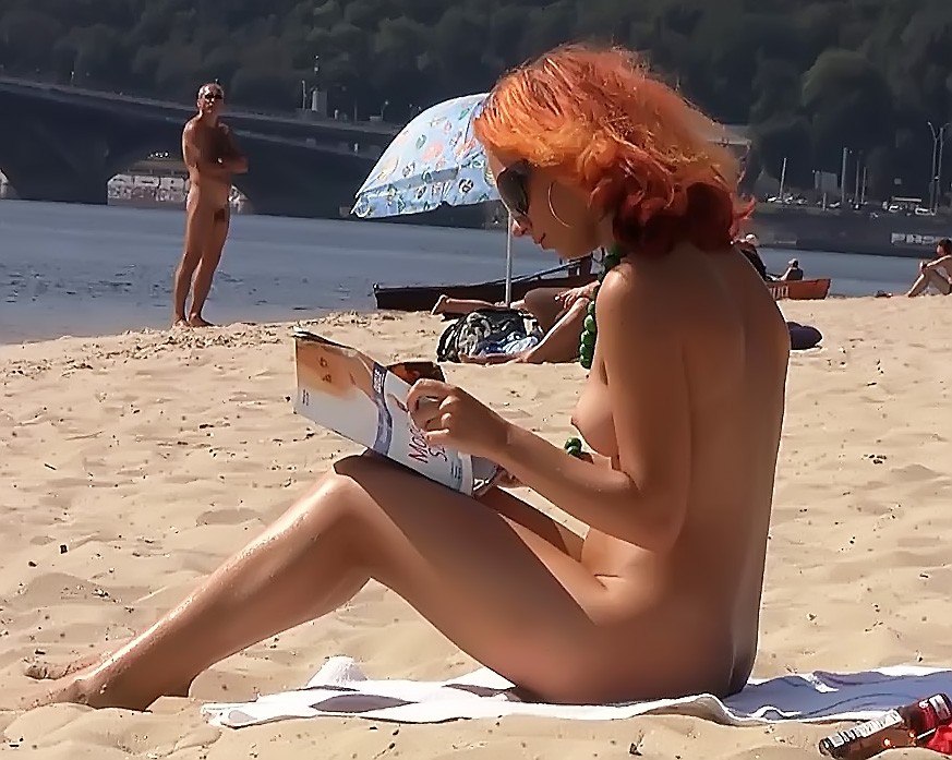 i took these video on a nudist beach on last sunday