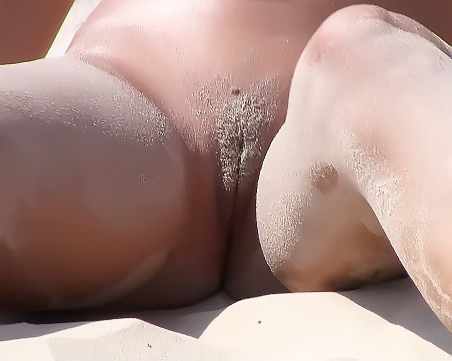 First time on a true nude beach.