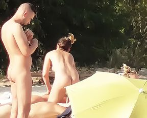 Blowjobs  and sex on a naturist plage