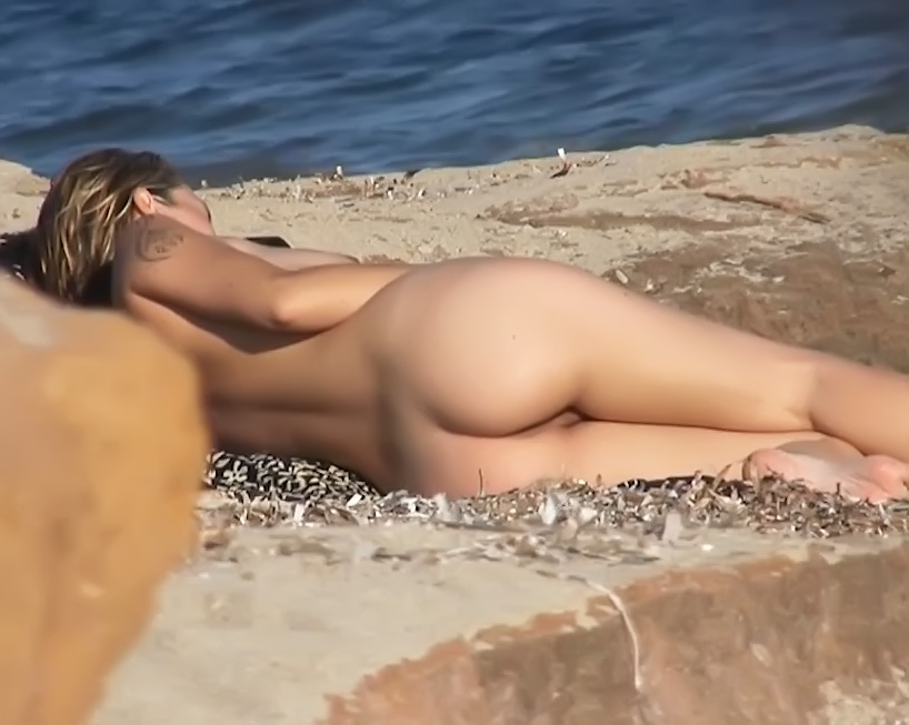 Amateurs on naturist-Plage