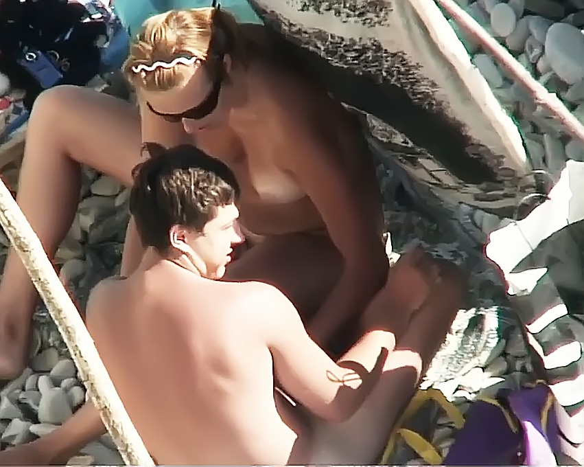 Cocksucks at the beach