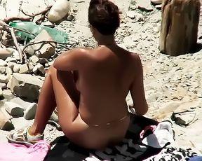 Chica en sexy bikini