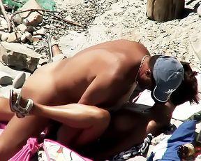 Hot Couple Fucking On Beach BVR