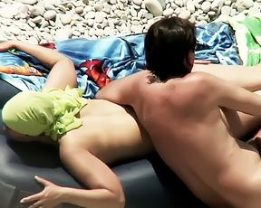 spy spanish sexy beach ass