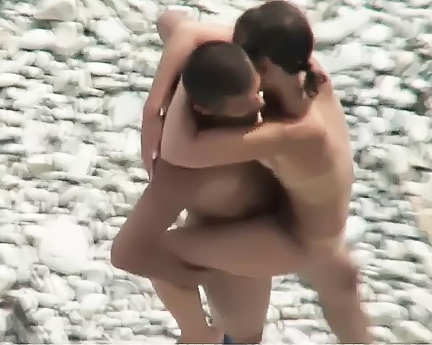 sexy spanish beach girl cameltoe big tit