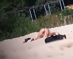 Nude Beach - Srolling along Nude Beach 2 2