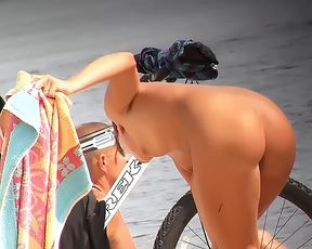 Sharing Nudist Beach Video 2