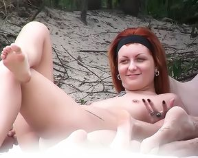 Nudist beach girls posing 3