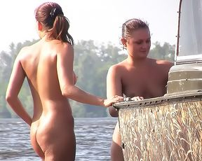 Helping Hand at the Naturist Strand 3