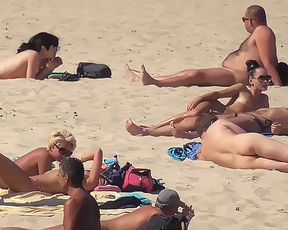 Nice subject caught at nude plage in South America 2