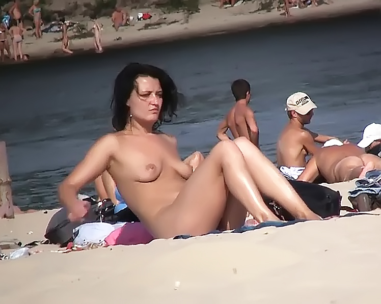 Another day at the nude strand with my gal. 2
