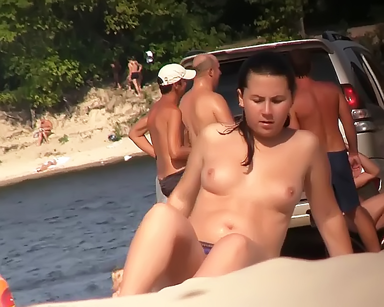 Nude Beach - Aint she Sweet - Hot make fun 2