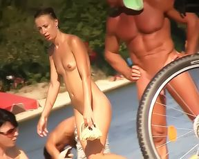 Nude Strand - Babes Spreading Compilation 2