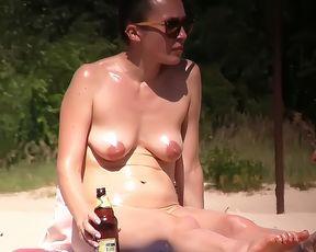 Latin Nude Plage Cummer 6