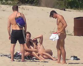 Beach Strand Nudist FKK nackt Baden Voyeur 3