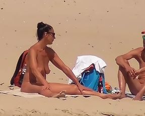 Check out gorgeous chick naturists having some fun 3
