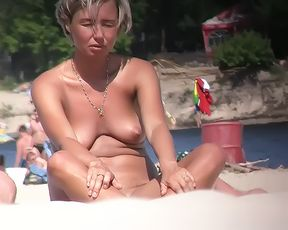 Just a few sneaky video from a world class nude beach. 3