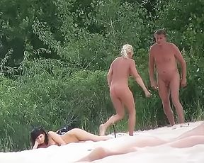 HOT fun #166 Naturist Strand Resort with a Babe 5