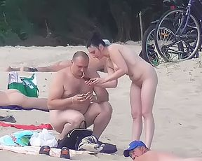 Naturist strand brings the best out of two hot girls 3
