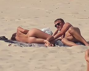 I meet with this couple from time to time at a local naturist plage. 7
