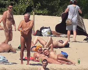 Nude Plage - Cute Couple caught on Spycam Camera 3