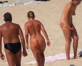 Sumptuous suntanned breasts