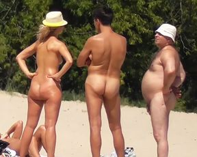Naomi - Nudist beach girl posing 5