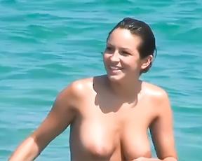 Huge Mammories at Nude Plage 2 2